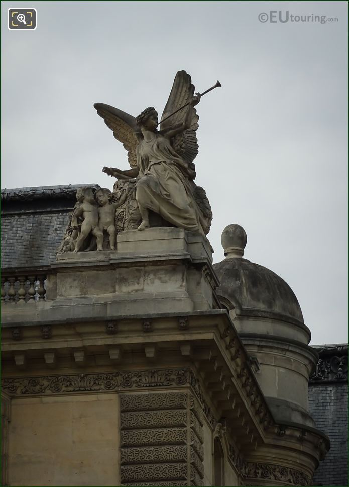 Jean-Marie Bonnassieux Statue La Paix