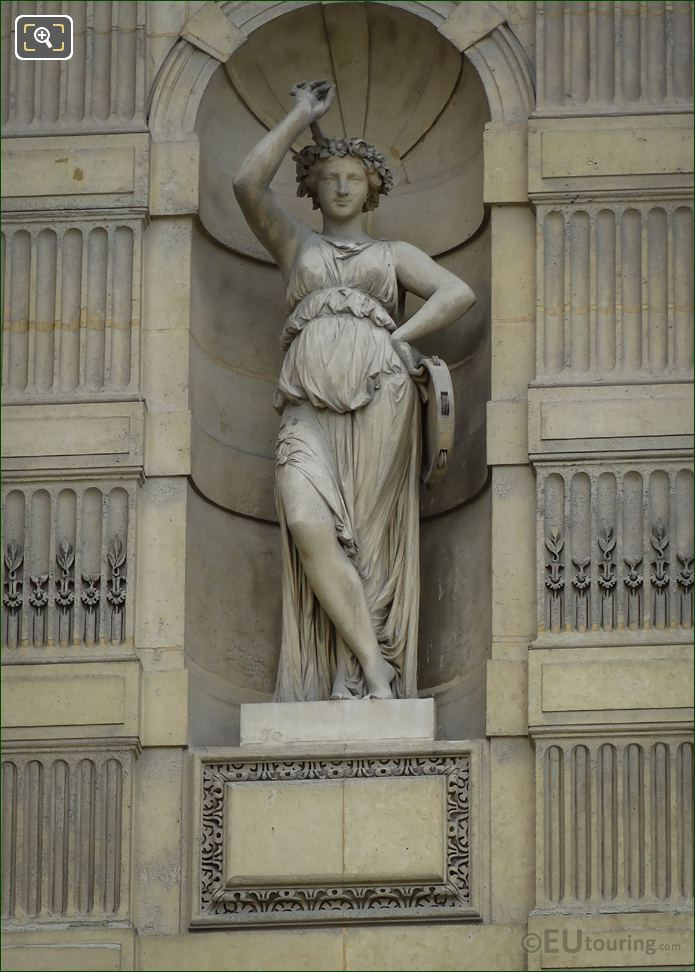 Goddess Of Dancing Statue Terpsichore