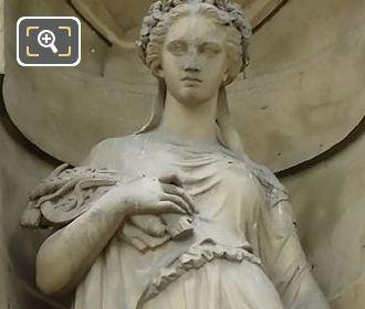 Ceres Statue By Emile Francois Chatrousse
