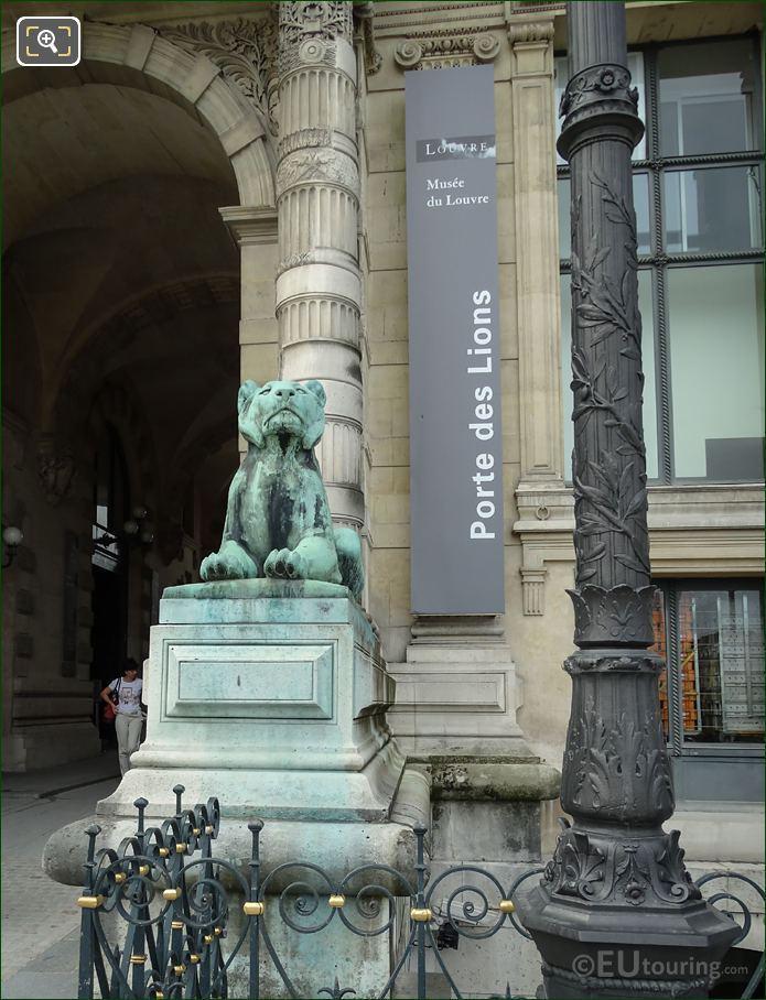 Porte Des Lions 1867 Bronze Lioness Statue