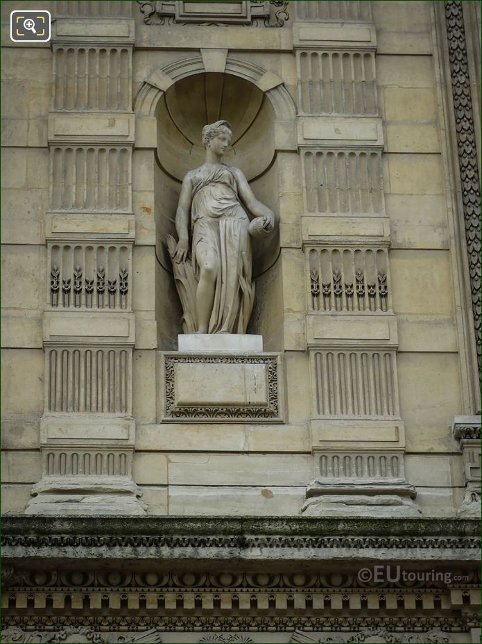 Statue Of Naiade On Aile De Flore