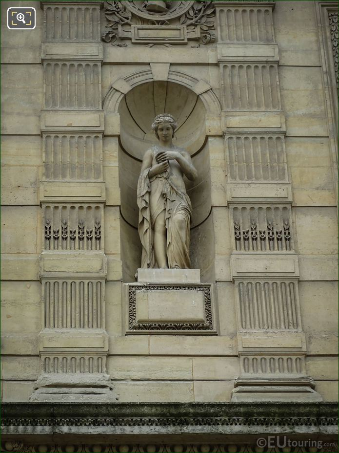 Pandore Statue On Aile De Flore