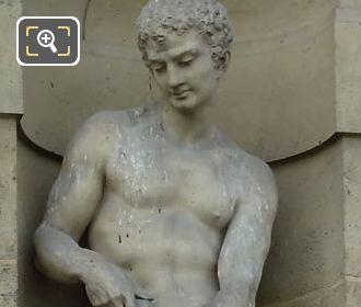 Le Lutteur Statue By Jean Esprit Marcellin