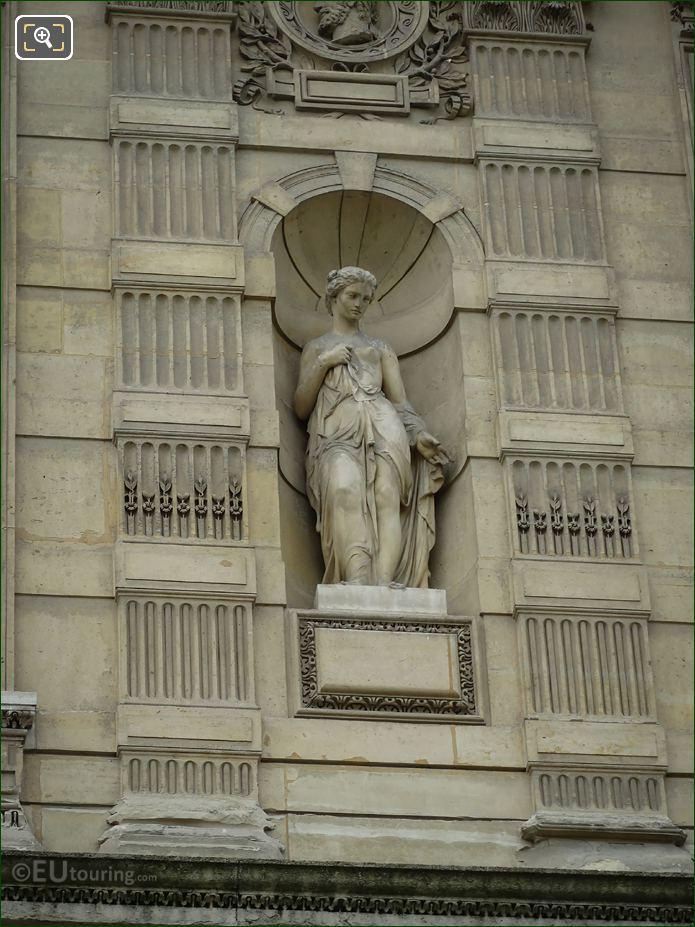 Goddess Of The Soul Statue Aile De Flore