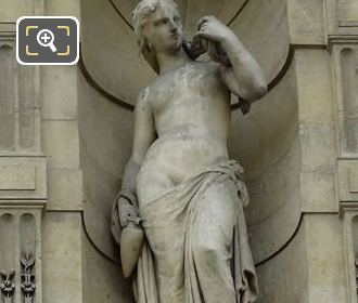 Baigneuse Statue By Jean Baptiste Paul Cabet