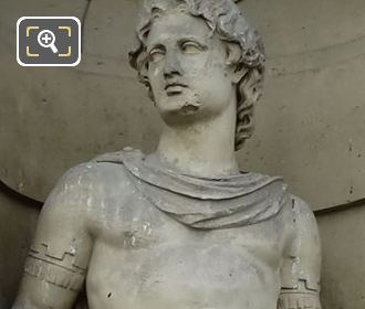 Pollux Statue Sculpted By Jean Claude Petit