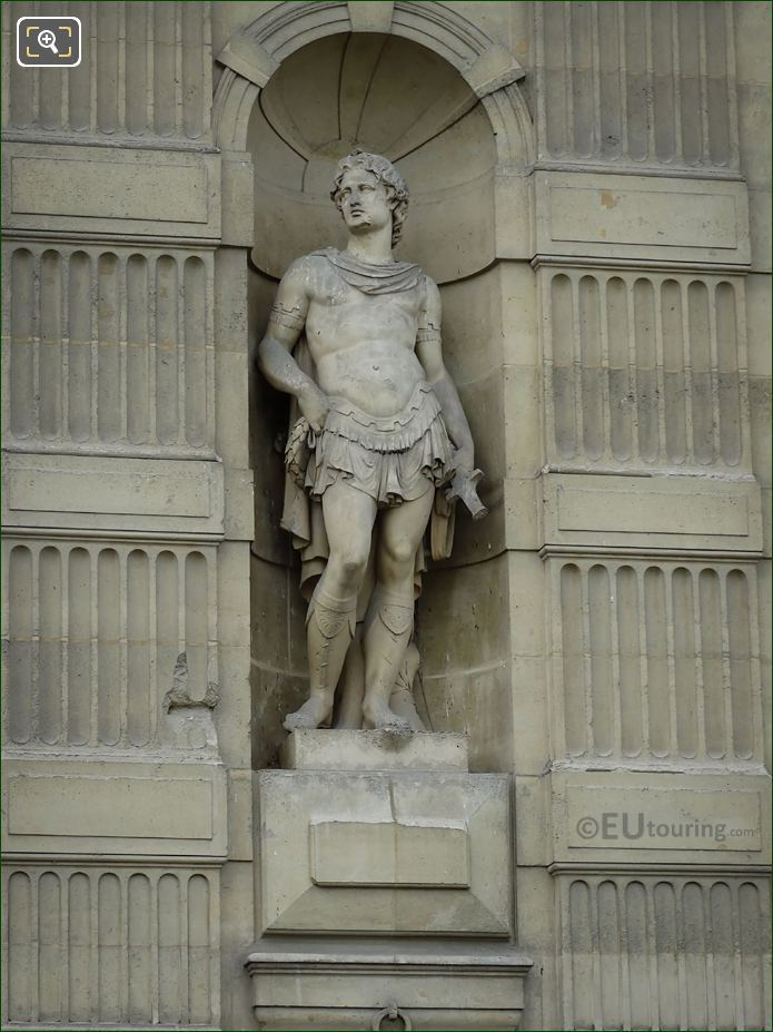 Pollux Statue On Aile De Flore