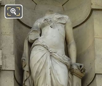 Erigone Statue By Sculptor Pierre Alexandre Schoenewerk