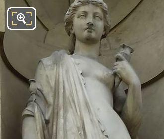 Goddess Of Magic Statue Circe By Pierre Alexandre Schoenewerk