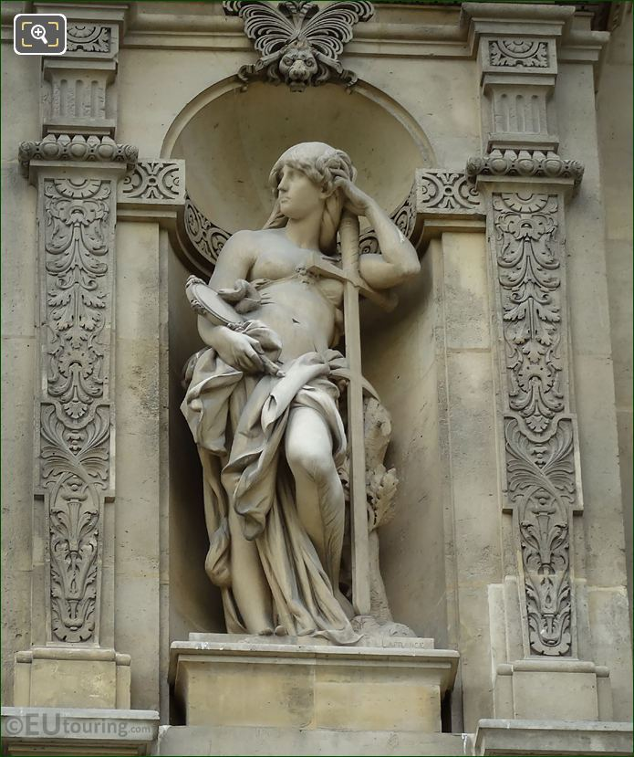 Prudence Statue By Jules Isidore Lafrance