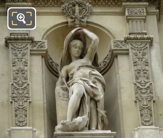 La Loi Statue By Jules Isidore Lafrance
