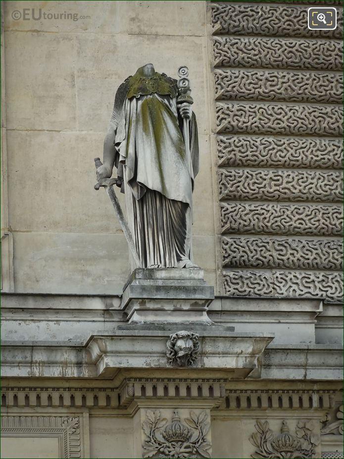 Le Patriotisme Statue Pavillon Des Etats