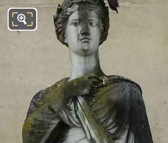 La Paix Statue By Jean Auguste Barre