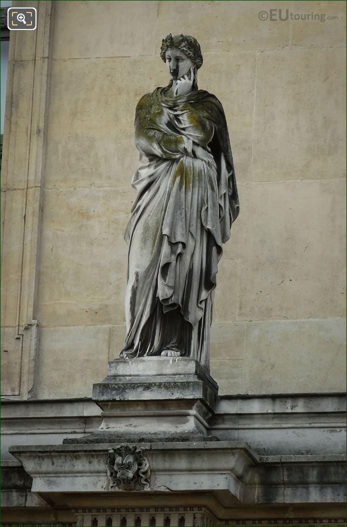 La Pensee Statue Pavillon Des Etats