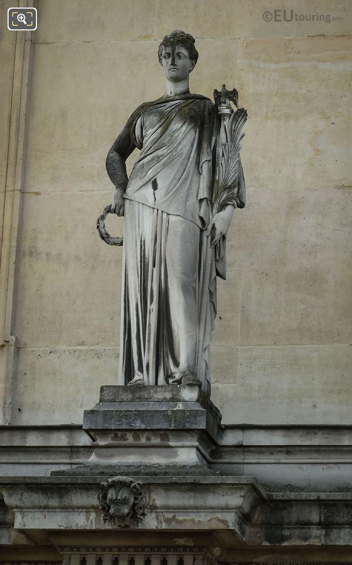 1868 La Victoire Statue By Gustave Crauk