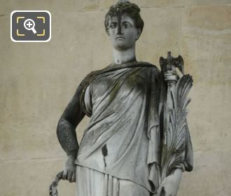 Louvre Museum 1868 La Victoire Statue