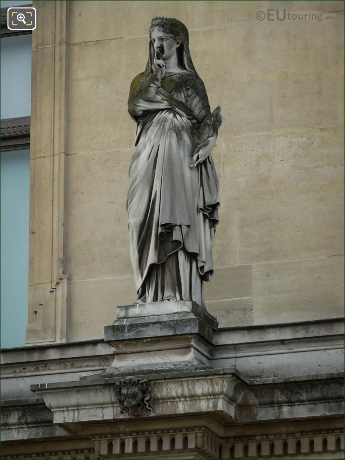 La Prudence Statue On Pavillon Des Etats