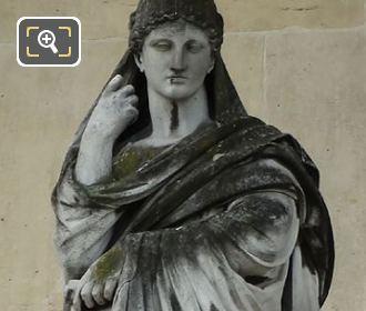 La Pensee Statue By Jean Jules Allasseur