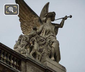 1868 La Paix Statue Group In Paris