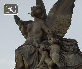 La Guerre Statue By Jean Marie Bonnassieux