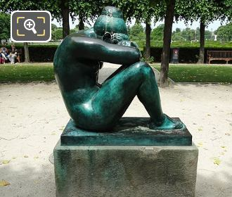 RHS Of La Nuit Statue By A Maillol