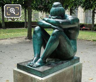 Bronze Statue La Nuit By Aristide Maillol