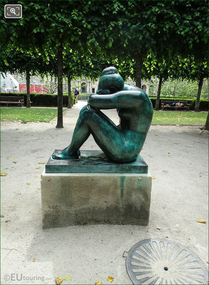 LHS Of La Nuit Statue By A Maillol