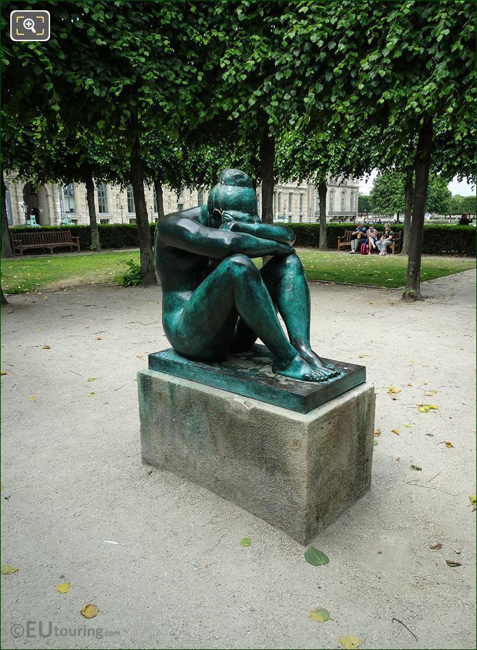 1902-1908 La Nuit Statue By A Maillol