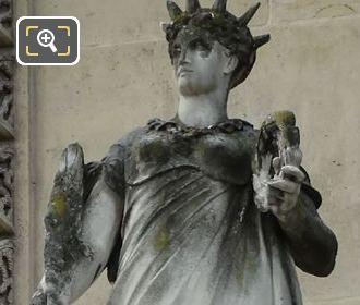 La Gloire Statue Pavillon Des Etats