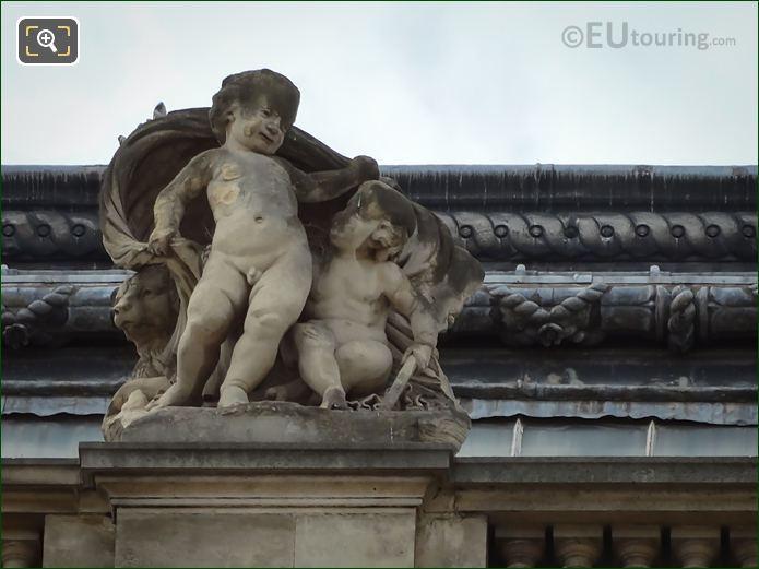 La Navigation Statue By Sculptor Louis Meunier