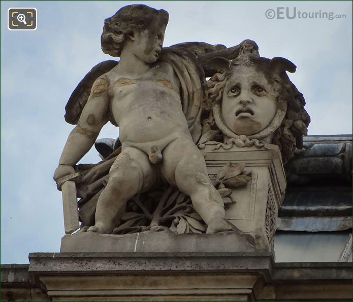La Vengeance Statue By Louis Leopold Chambard