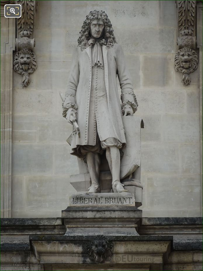 Liberal Bruant Statue By Armand Toussaint