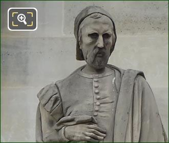 Pierre Chambiche Statue By Jules-Antoine Droz