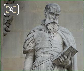 Pierre Lescot Statue By Henry Triqueti