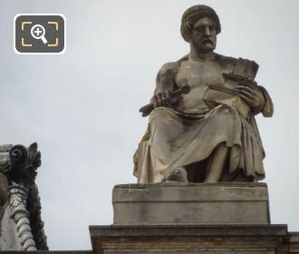 L'Architecture Statue By Sculptor Augustin Dumont