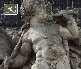La Guerre Statue By Sculptor Democrito Gandolfi