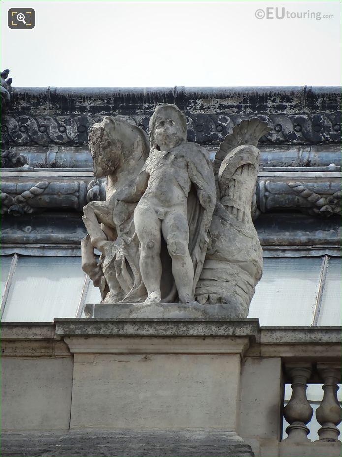 Les Combats Statue On Pavillon Lesdiguieres