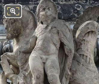 Les Combats Statue By Edme Jean Louis Sornet