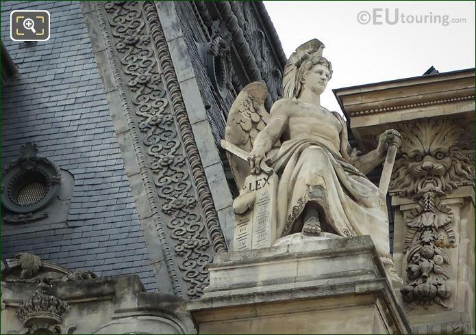La Puissance Statue By Antoine Laurent Dantan