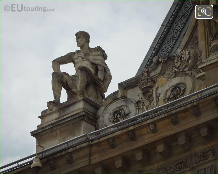La Fermete Statue By Sculptor Pierre Bernard Prouha