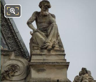 La Meditation Statue By Jean Marie Bonnassieux
