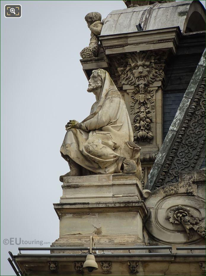 La Religion Statue By Jean Marie Bonnassieux