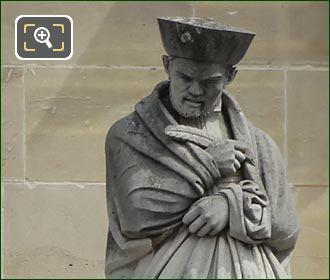 Francois Rabelais Statue By Louis Valentin Robert