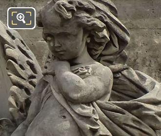 l'Hiver Statue By Isidore Romain Boitel