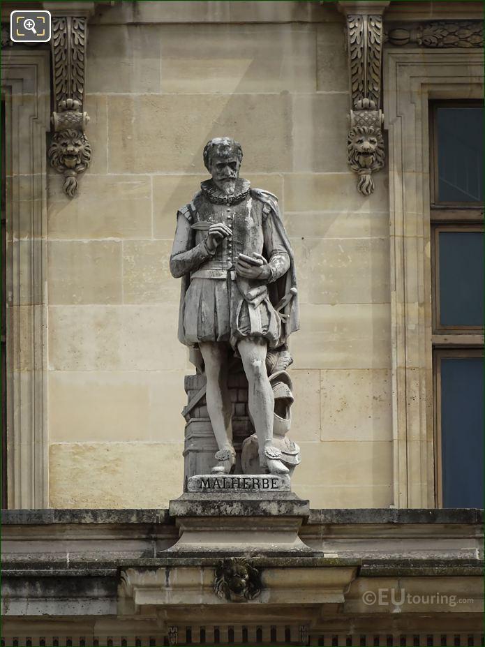 Francois De Malherbe Statue On Aile Turgot