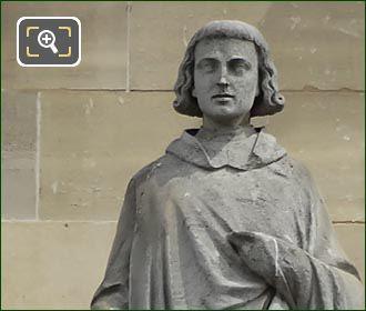 Pierre Abailard Statue By Pierre Jules Cavelier