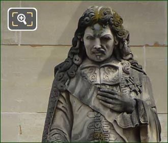 Jean-Baptiste Colbert Statue By Raymond Gayrard