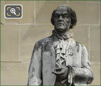 Comte De Buffon Statue By Eugene Andre Oudine
