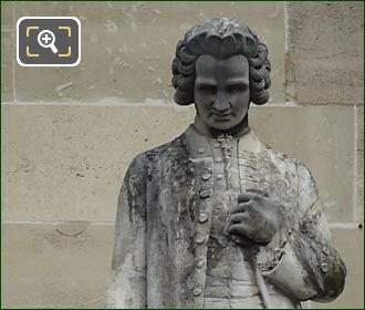Jean Jacques Rousseau Statue By J E Farochon