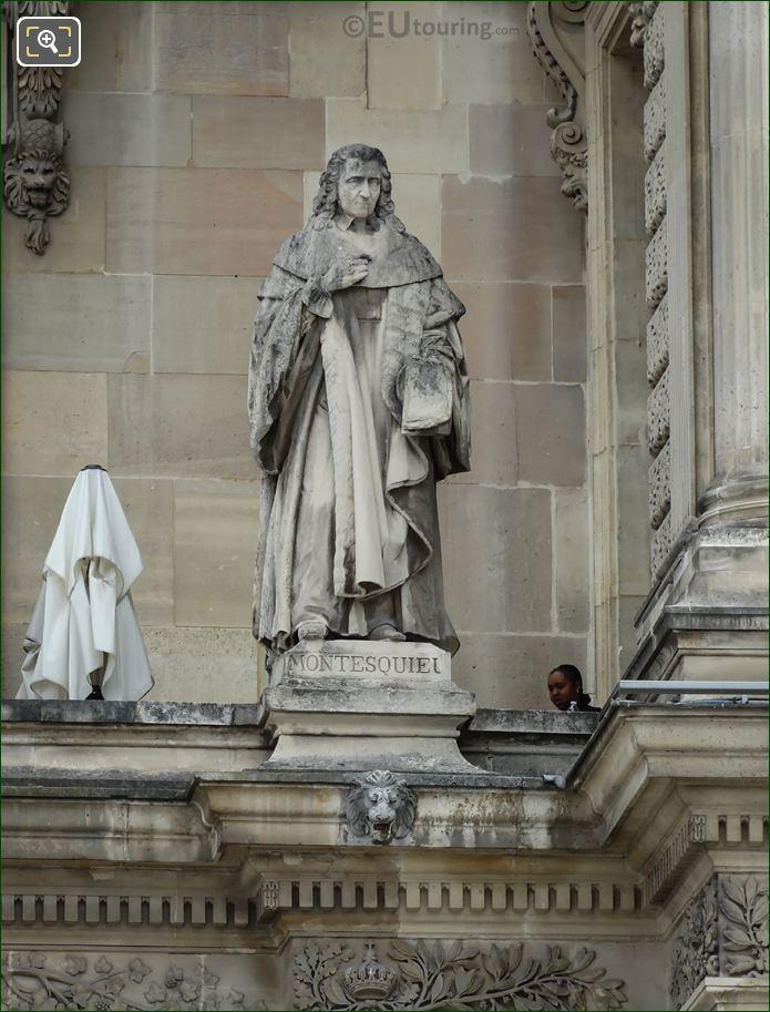 Montesquieu Statue On Aile Turgot